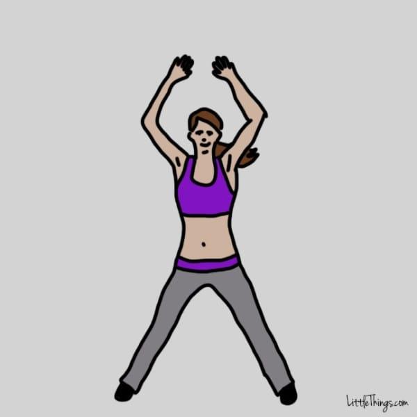 упражнения для дряблых рук