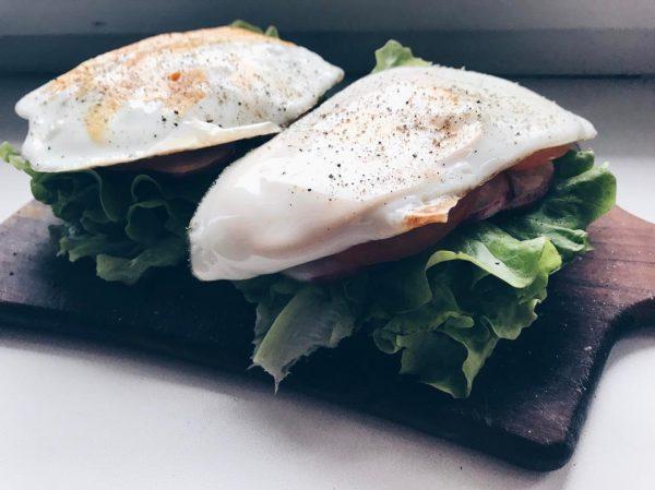Бутерброд без хлеба фото