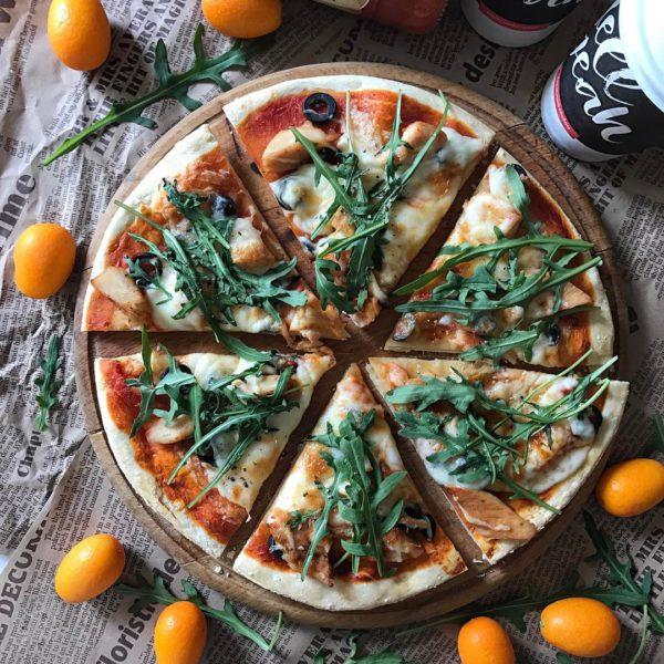правильная пицца с фото
