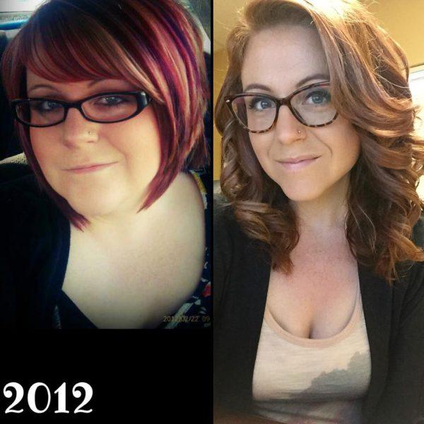 история похудения девушки фото
