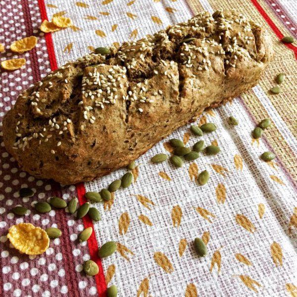 домашний диетический хлеб фото