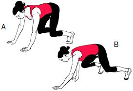 упражнения для фигуры песочные часы фото