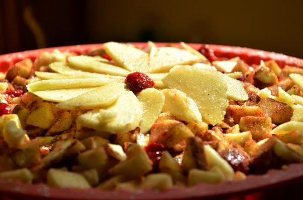 рецепты с яблоками фото