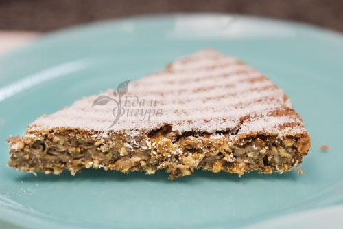 диетический пирог с клубникой фото
