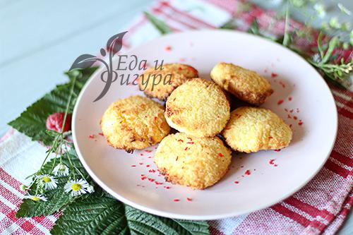 печенье с кокосовой стружкой фото