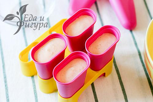 Абрикосовое мороженое фото