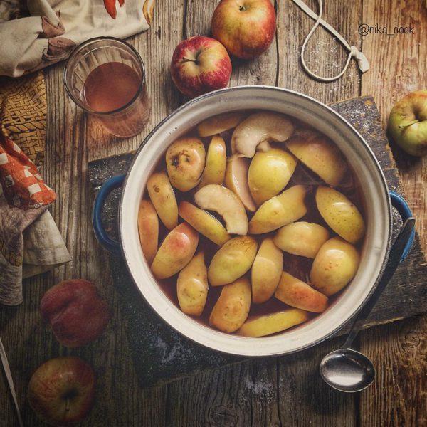 десерт из яблок фото
