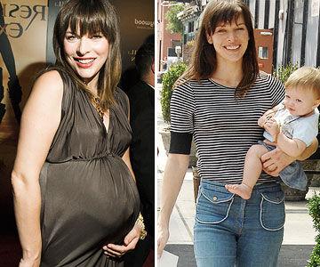 похудение после родов фото