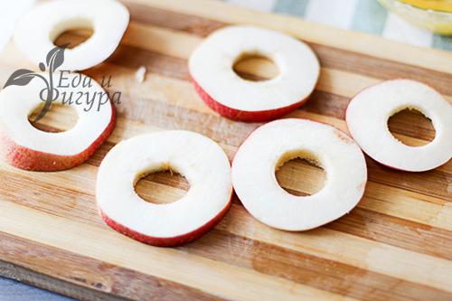 Яблочные колечки фото