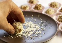 Домашние полезные конфеты из тыквы и семян подсолнечника фото