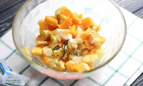десерт из тыквы фото