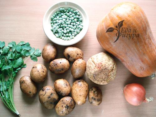 картофельная запеканка в духовке фото ингредиентов