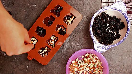конфеты из кэроба фото наполнения формы