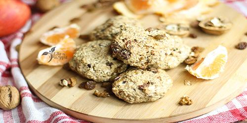 диетическое овсяное печенье фото готового овсяного печенья