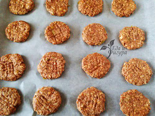 овсяное печенье с протеином фото овсяного печенья на противене