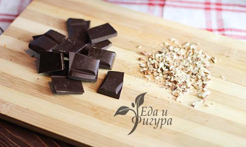 шоколадный брауни фото шоколада и орехов